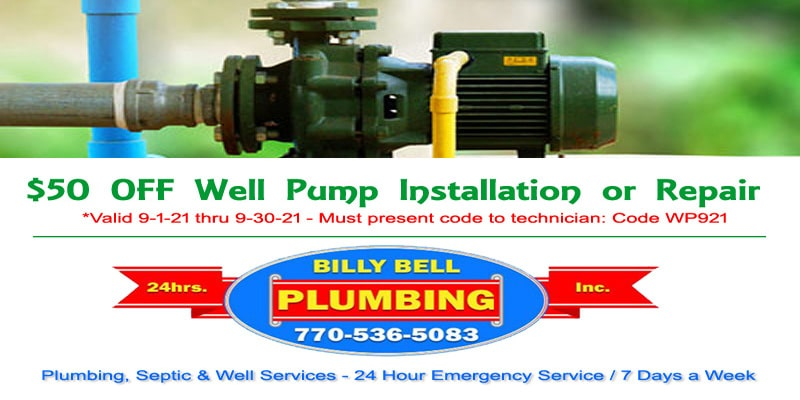 Well Pump Install and Repair Services